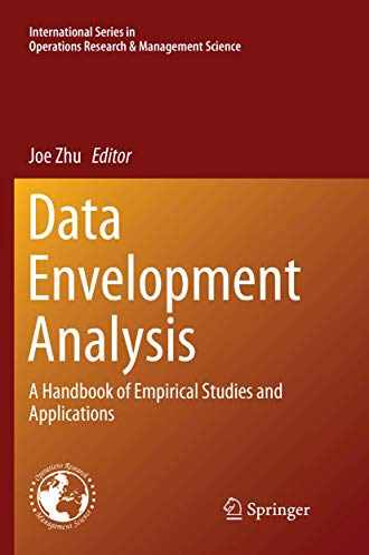 Data Envelopment Analysis By Joe Zhu