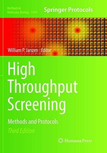 High Throughput Screening By William P. Janzen