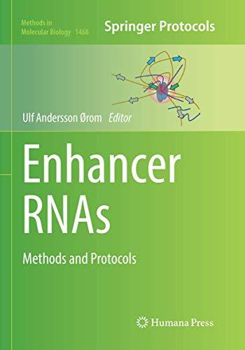 Enhancer RNAs By Ulf Andersson Orom