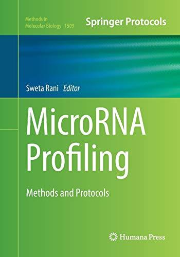 MicroRNA Profiling By Sweta Rani