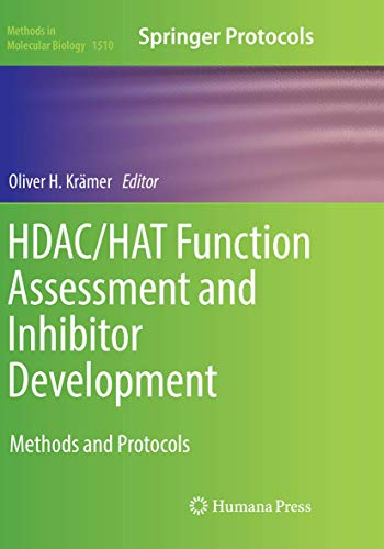 HDAC/HAT Function Assessment and Inhibitor Development By Oliver H. Kramer