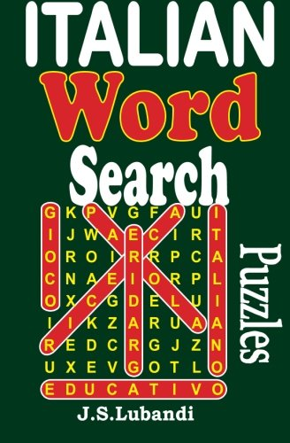 Italian Word Search Puzzles By J S Lubandi