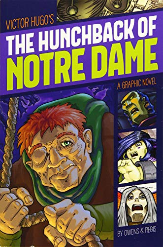 Hunchback of Notre Dame (Graphic Revolve: Common Core Editions) By Victor Hugo
