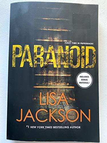 paranoid By lisa jackson