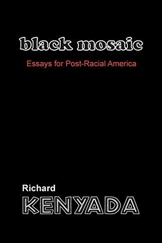 Black Mosaic By Richard Kenyada