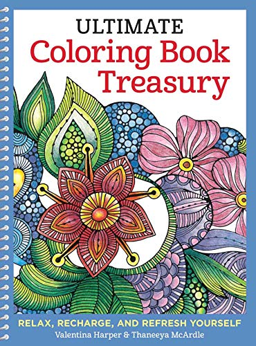 Ultimate Coloring Book Treasury By Valentina Harper