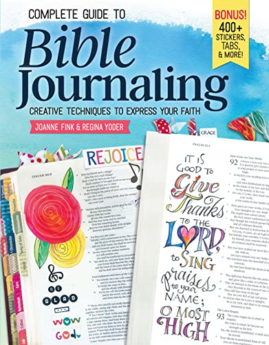 Complete Guide to Bible Journaling: Creative Techn... by Regina Yoder 1497202728