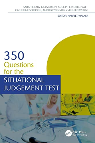 350 Questions for the Situational Judgement Test (Medical Finals Revision Series) By Catherine Sproson