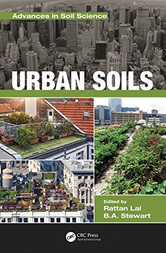 Urban Soils By Rattan Lal (The Ohio State University)