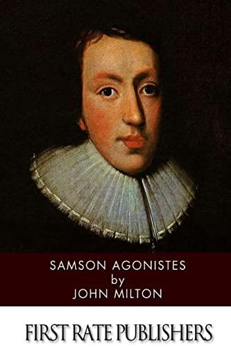 Samson Agonistes By Professor John Milton (University of Sao Paulo)