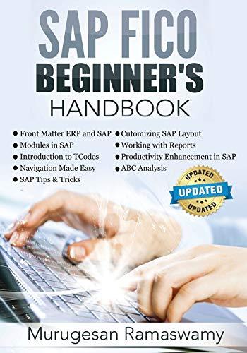 SAP Fico Beginner's Hand Book By MR Murugesan Ramaswamy