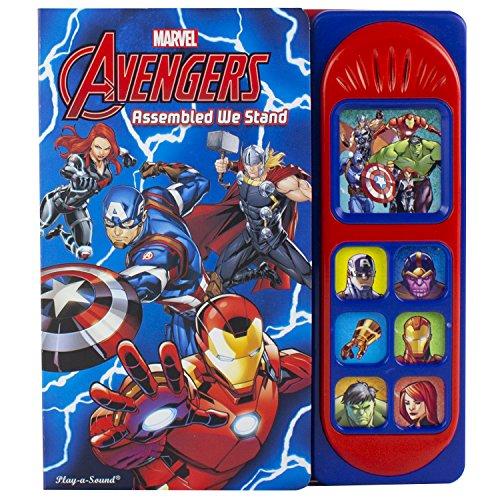 Marvel Avengers Little Sound Book By Other primary creator P. I. Kids