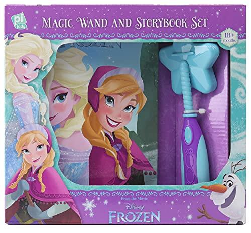 Frozen Magic Wand Story Bk Set