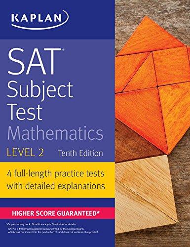 SAT Subject Test Mathematics Level 2 By Kaplan Test Prep