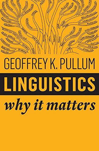 Linguistics By Geoffrey K. Pullum
