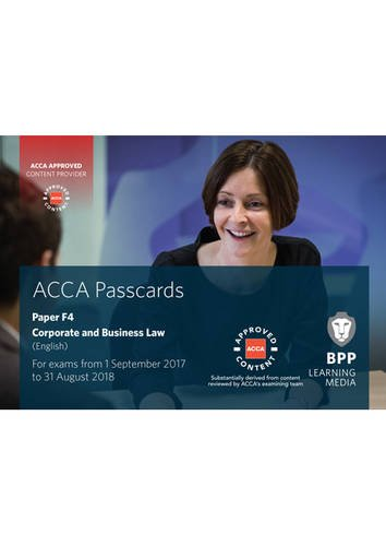 ACCA F4 Corporate and Business Law (English) By BPP Learning Media