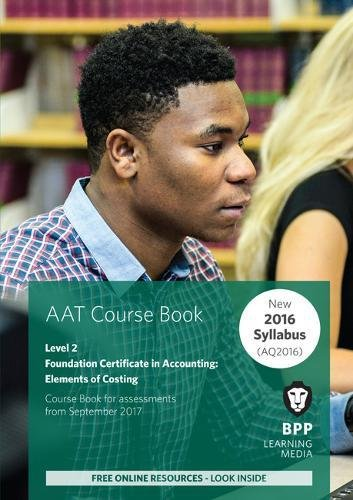 AAT Elements of Costing By BPP Learning Media