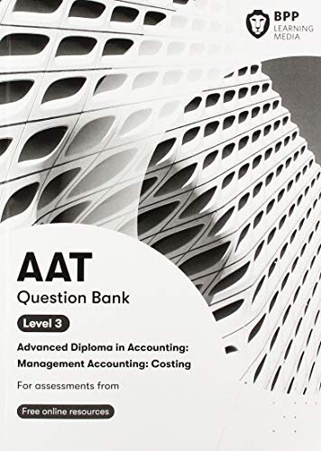 AAT Management Accounting Costing By BPP Learning Media