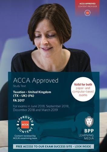 ACCA F6 Taxation FA2017: Study Text By BPP Learning Media