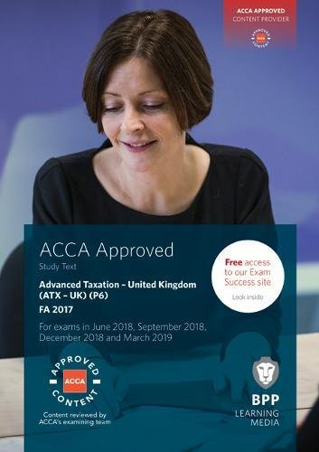 ACCA P6 Advanced Taxation FA2017 By BPP Learning Media