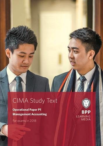 CIMA P1 Management Accounting By BPP Learning Media