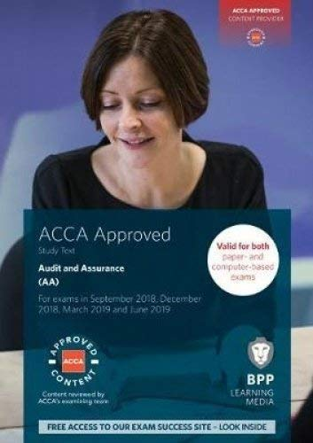 ACCA Audit and Assurance: Study Text By BPP Learning Media