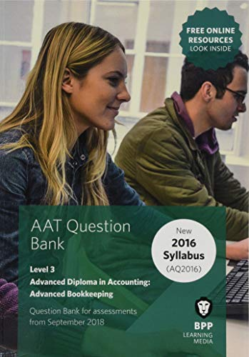 AAT Advanced Bookkeeping By BPP Learning Media