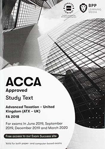 ACCA Advanced Taxation FA2018 By BPP Learning Media