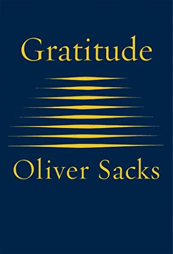Gratitude von Oliver Sacks
