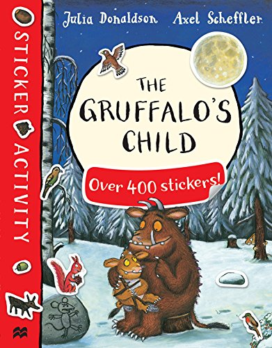 The Gruffalo's Child Sticker Book By Julia Donaldson