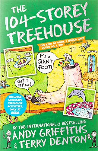 The 104-Storey Treehouse (The Treehouse Books) By Andy Griffiths
