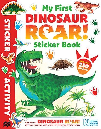 My First Dinosaur Roar! Sticker Book By Paul Stickland (Illustrator)