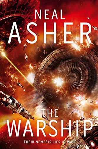 The Warship (Rise of the Jain) By Neal Asher