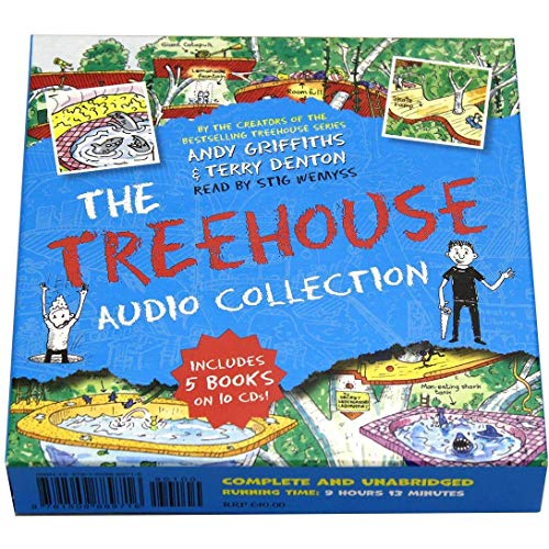 The 13-Storey Treehouse Audio Collection - 10 CDs