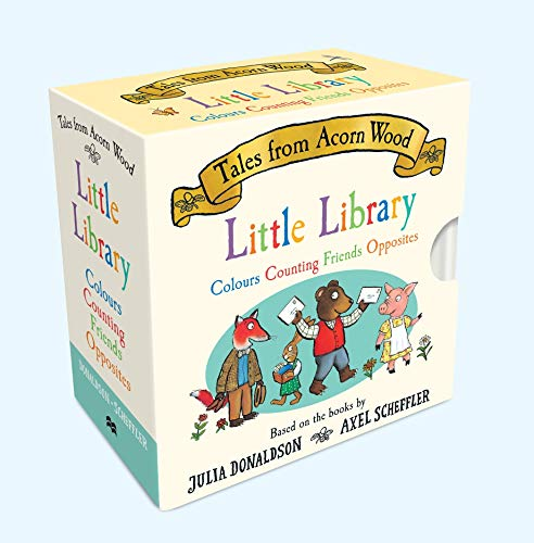 Tales From Acorn Wood Little Library By Julia Donaldson