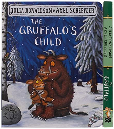 The Gruffalo and the Gruffalo's Child Board Book Gift Slipcase By Julia Donaldson