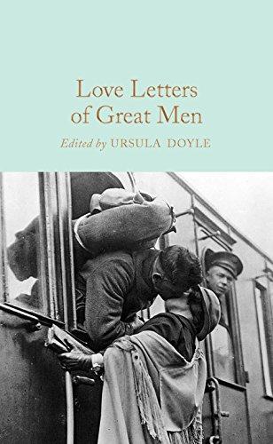 Love Letters of Great Men von Ursula Doyle (Ed.)