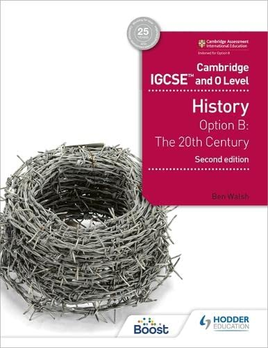 Cambridge IGCSE and O Level History 2nd Edition By Ben Walsh