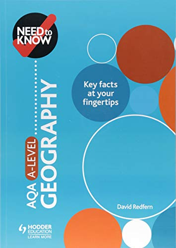 Need to Know: AQA A-level Geography By David Redfern