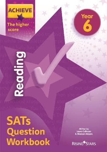 Achieve Reading SATs Question Workbook The Higher Score Year 6 von Laura Collinson