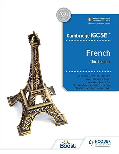 Cambridge IGCSE (TM) French Student Book Third Edition von Jean-Claude Gilles