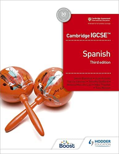 Cambridge IGCSE (TM) Spanish Student Book Third Edition von Simon Barefoot