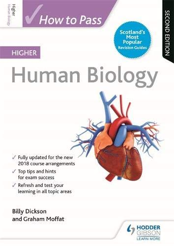 How to Pass Higher Human Biology: Second Edition By Billy Dickson