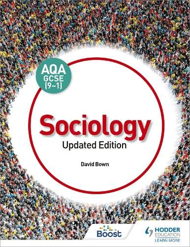 AQA GCSE (9-1) Sociology, Updated Edition By David Bown