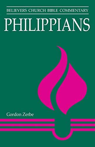 Philippians By Gordon Zerbe