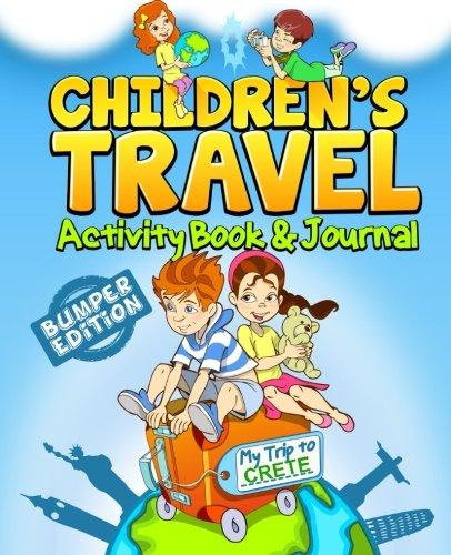 Children's Travel Activity Book & Journal By Traveljournalbooks