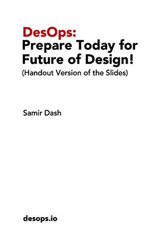 DesOps By Samir Dash