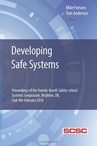 Developing Safe Systems  Proceedings Of The Twenty