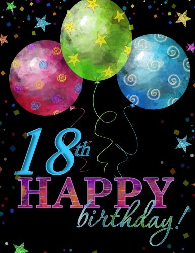18th Happy Birthday Celebrarion Memory Book Party Supplies In All Departments