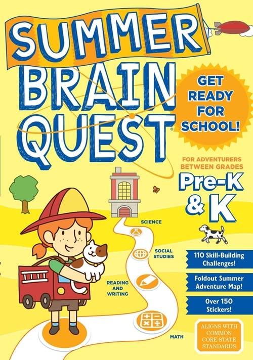 Summer Brain Quest By Workman Publishing